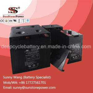 Deep Cycle Gel Battery 2V 2000ah Backup Power Supply Battery pictures & photos