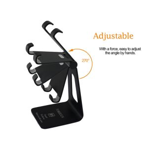 Universal Aluminum Metal B Type Ajustable Mobile Phone Tablet Desk Holder Stand for Smart Phone pictures & photos