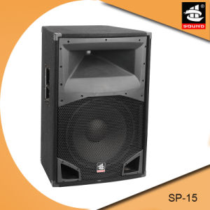 15 Inch Professional PA System Wooden Passive Speaker pictures & photos