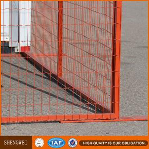 Canada Temporary Construction Site Portable Fencing pictures & photos