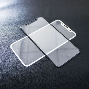 Full-Cover Screen Printing Tempered Glass Screen Protector for iPhone X pictures & photos