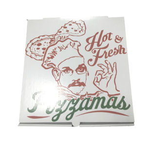 Custom Made Food Packaging Boxes for Pizza pictures & photos