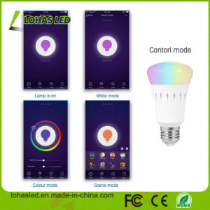 9W 10W E27 B22 APP Controlled LED Light Bulb Tuya APP/Amazon Alexa/Google Home Voice Controlled WiFi Smart LED Bulb pictures & photos