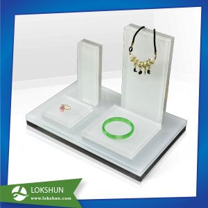 High Quality Jewelry Display Acrylic Jewelry Display Stand Cheap Jewellery Showcase Wholesale pictures & photos