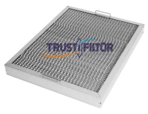 Commercial Kitchen Canopy Aluminium Rangehood Grease Filters pictures & photos