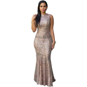 2018 Sexy Fashion Cocktail Formal Party Bandage Prom Evening Gown Dress pictures & photos