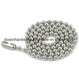 """30"""" Inch Metal Ball Chain Neckalce with Connector for Badge pictures & photos"""