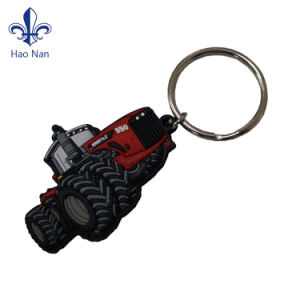 2017 Wholesale New Personalized Soft PVC Keyring with Custom Logo pictures & photos