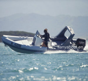Liya 22FT/6.6m Rigid Hypalon Inflatable Boat in China pictures & photos