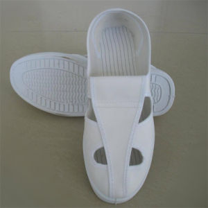 PCB Worker ESD White Mesh Shoes pictures & photos
