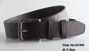 2017 Fashion Man′s PU Leather Belt (N1302) pictures & photos