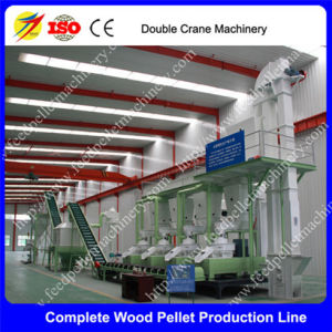 Complete Biomass Wood Pellet Mill Making Production Line, Sawdust Pellet Production Line