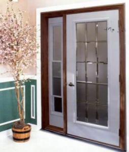Afol-D830 PVC Door with Glass Interior Door