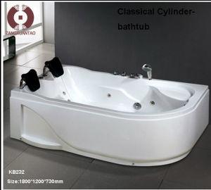 Hot Sale Fashion Massage Acrylic Plastic Bathtub Kb232 pictures & photos