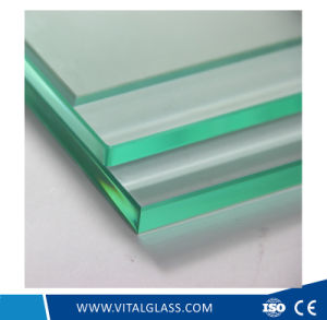 Tempered Laminated Glass/Construction Glass/Clear/Tinted Float Reflective Glass pictures & photos