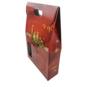 2 Pack Paper Packing Wine Box (FP6063) pictures & photos