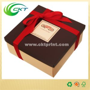Beautiful Perfume Gift Box with Top and Lid (CKT-CB-318)