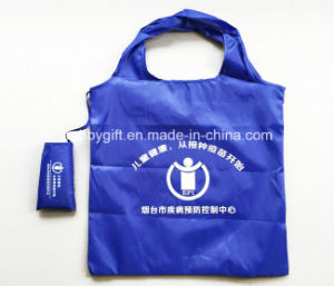Cheap Advertising Folding Polyester Bag for Shopping pictures & photos