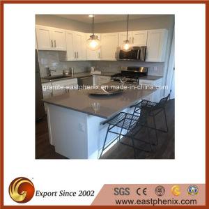 Supply Quartz Stone Kitchen Countertop pictures & photos