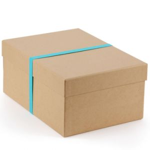 Brown Color Corrugated Folding Shoes Box with Custom Printing pictures & photos