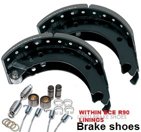 Truck Trailer Brake Shoe with ECE R90 Linings pictures & photos