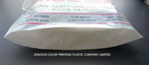 Printed Plastic PE Shopping Bag with Soft Loop Handle pictures & photos