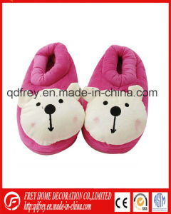 Hot Sale Winter Slipper Warmer Toy with Teddy Bear