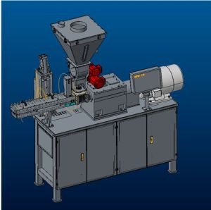Twin-Screw Extruder of Powder Coating Processing Machine From Yantai pictures & photos