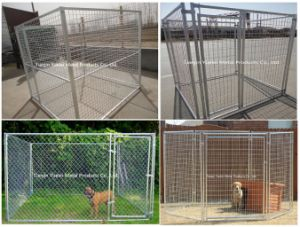 Chain Link Dog Kennel Heavy Duty Chain Link Quick Connect Frame Pet Cage pictures & photos