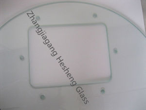 4mm Clear Toughened Glass as Washing Machine Cover pictures & photos