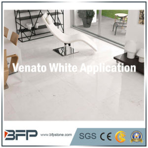 10mm Thickness Chinese White Marble Tile for Distributing Used in Floor, Wall, Decoration pictures & photos