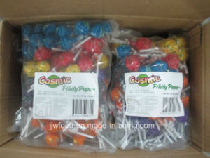 Football Shape Lollipop Stick in Polybag Packaging pictures & photos