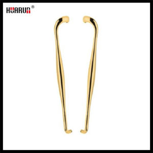 Golden Surface Stainless Steel Glass Handle(HR-293B) pictures & photos