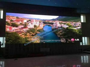 ultra slim and light P3 P4 P5 P6 P10 indoor LED screen pictures & photos