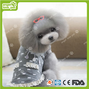 Cute Lace Design Crown Pattern Pet Dog Clothes pictures & photos