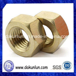 Fastener Manufacturers, Wholesale Brass Hex Nut pictures & photos