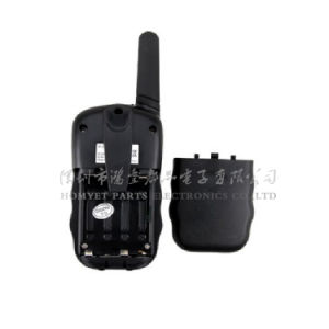 Smart Design UHF Pocket Handheld Walkie Talkie with Display (HY-WT06) pictures & photos