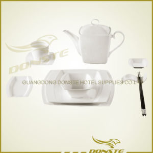 Chinese Dinner Set Flat Camber Edge