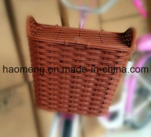 2016 New Style Plastic Bicycle Basket pictures & photos