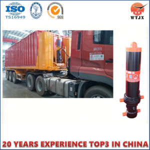 4 Stages Dump Trailer Used Telescopic Hydraulic Cylinder pictures & photos