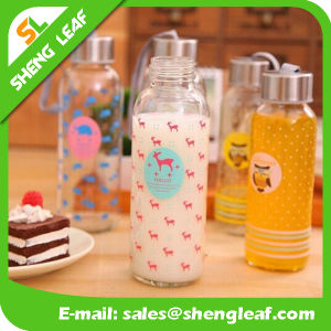 Dark Gray Bottle China Manufacturer Plastic Water Bottle (SLF-WB029) pictures & photos