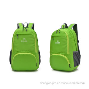 Foldable Super Light Back Pack with Two Shoulders for Student pictures & photos