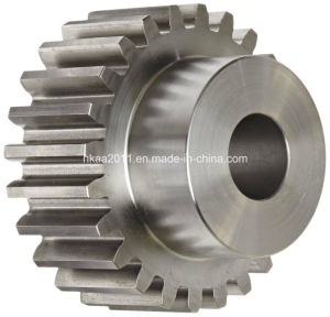 Stainless Steel Transmission Spur Gear for Textile Machine pictures & photos