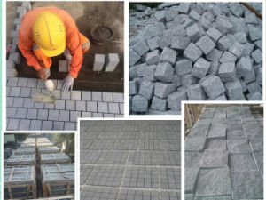 Grey Granite Cube Stone & Paving Stone (g654, g603, g601) pictures & photos