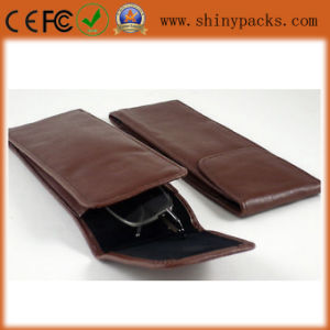 Hifh Quality Soft Glasses Case with Leather