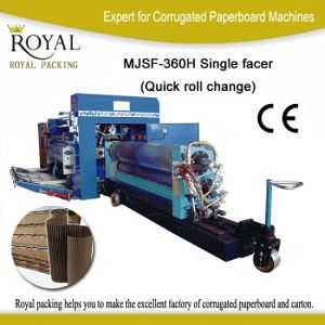 Single Facer with Quick Roll Change Function pictures & photos