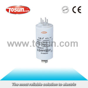Motor Run Capacitor with Metallic Polypropylene Membrane pictures & photos