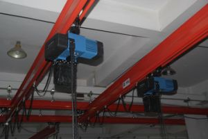 European Type 1000kg Electric Chain Hoist with Trolley pictures & photos