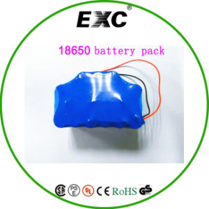 18650 4s3p Battery Pack Smartec Li-ion 14.8V 4s Rechargeable Battery pictures & photos