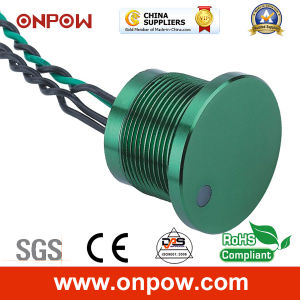 Onpow 22mm Piezo Switch (PS223P10YSS1R12D, CCC, CE) pictures & photos